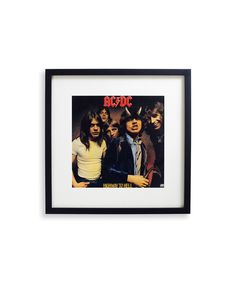 ACDC FRAMED RECORD