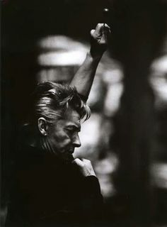 Have open separate Herbert von Karajan /OO\ for more photos of Karajan Black And White Portraits, Black White Photos, Herbert Von Karajan, Leonard Bernstein, All About Music, People Of Interest, Ballet, Depth Of Field, Composers