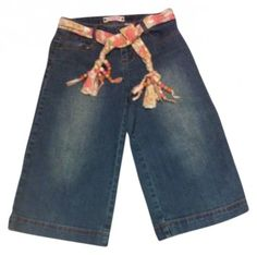 Zana Di Boho Embroidered Hippy Chick & Funky Belt 27 Capri/Cropped Denim $9.99 FREE SHIPPING     FOLLOW Juniors Jackpot Closet for great bargains on fun junior clothing.