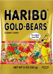 allergen free haribo bears -