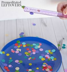 This Easy Static Electricity Experiment for kids is ideal for a homeschool science lesson! All ages will having fun playing with different materials!