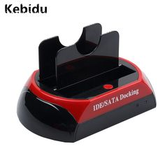 """Kebidu Professional HDD Docking Station HDD Docking Dual 3.5""""/2.5"""" IDE/SATA HDD Dock Docking station - SD HUB Wholesale Newest  Price: 19.99 & FREE Shipping #computers #shopping #electronics #home #garden #LED #mobiles #rc #security #toys #bargain #coolstuff 