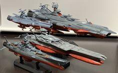 Space Fighter, Capital Ship, Star Blazers, Space Battles, Anime Wallpaper Live, Star Wars Rpg, Star Trek Ships, Art Station, Prehistoric Animals