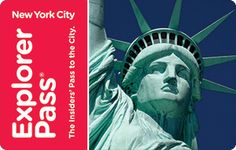 The New York City Explorer Pass® is the best choice for maximum savings and flexibility. Save up to 45% off retail prices on admission to 3, 5, or 7 attractions of your choice from over 50 choices. Enjoy the flexibility to choose attractions as you go and take up to 30 days to use your pass. Attractions include a hop-on hop-off bus tour, Statue of Liberty and Ellis Island ferry ticket, Empire State Building, Top of the Rock, the MET, and more. Plus, skip the line at select attractions.