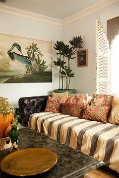 super-sized sofa in neville trickett's durban home / sfgirlbybay