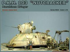 pARTyzany - студия масштабных моделей: Nutcracker (Maschinen Krieger. Hasegawa…