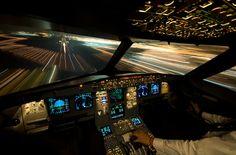 warp speed,flight deck,airbus,airline