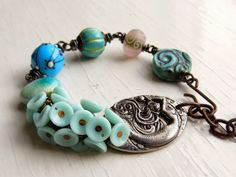 Songbeads: New pieces on Etsy in time for today's sale...