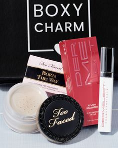 This month all active Premium members will be getting either 1 Too Faced Born This Way Setting Powder Natural Finish Loose Powder OR 1 Dermelect Revitalite XL Lash Volumizer 🤗💖 #BoxyCharm #BoxyGlamping #BoxyCharmPremium Born This Way, Loose Powder, Setting Powder, Lashes, Engagement, Eyelashes, Engagements, Eye Brows