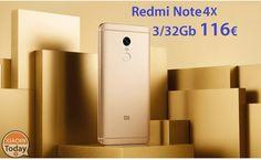 Codice Sconto - Redmi Note 4x 3/32Gb Rom Global da 116€ spedizione Italy Express inclusa #Xiaomi #4XAndroid6 #MIUI #Offerta #Redmi #RedMiNote #RedmiNote4 #RedmiNote4X #Xiaomi https://www.xiaomitoday.it/?p=19528