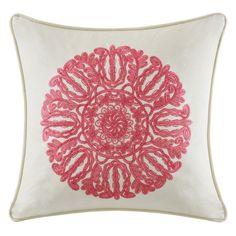 JLA Home Florentina Decorative Square Pillow - EO30-2040A