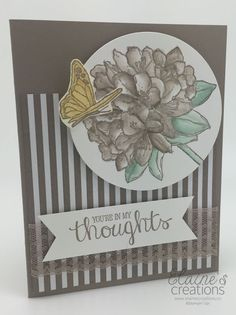 Stampin' Up! Best Thoughts Card Elaine's Creations