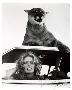 farrah fawcett and friend