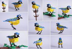 Amazing LEGO British Bird Series by Thomas Poulsom