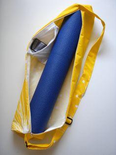 Yoga Bag. Inside