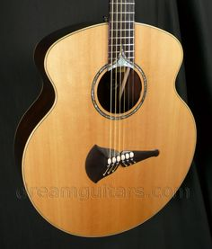 2004 Klein Deco - Custom Limited Edition Acoustic Guitar - Sitka Spruce Top