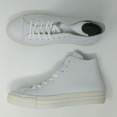 f47c5996168 Converse Chuck Taylor All Star CTAS Prime High White Cream ( 154837C ) New