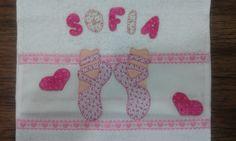 Linda toalha infantil personalizada!!!
