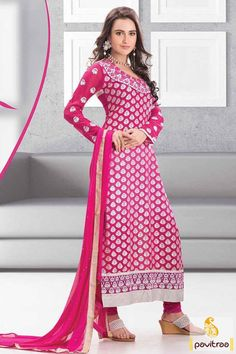 To look sparking on Diwali festival 2015, buy diwali special dark pink designer salwar suit online from women clothing store Pavitraa. A spectacular pakistani salwar kameez with santoon material and embroidery work. Diwali Special Discount Offer:  5% OFF FOR Buy 1 Product 10% OFF FOR Buy 2 Product 15% OFF FOR Buy 3 Product or more  #designersalwarsuit, #partywearsalwarsuit, #designerdresses, #festivalsalwarsuit http://www.pavitraa.in/store/partywear-salwar-suit/ callus: +91-7698234040