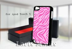 pink zebra - desain case for iPod touch