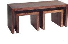 Dakota Mango John Long Coffee Tables by Verty furniture £229