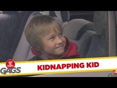 Kidnapping Kid Prank - Prank Videos - Joke King Pranks For Kids, Prank Videos, Just For Laughs, Bring It On, Jokes, Entertaining, Youtube, King, Chistes