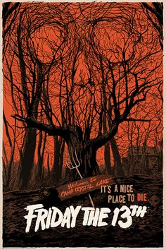 mondo poster 2013 friday the 13th