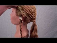 Authentic Renaissance Hairstyle: How-to for a real Renaissance hairstyle from Northern Europe (Flanders 1520's). Based on a reliquary bust of an anonymous female saint (probably one of the 10,000 virgin companions of St. Ursula) in the Metropolitan Museum of Art (Cloisters Collection 59.70) as seen in Treasures of Heaven show. With work arounds for shorter hair.