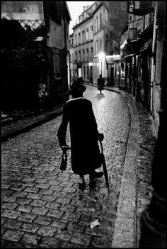 Bruce Davidson - Paris. 1956. Mme. Fauchet.