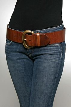 I lust after Pellemelle leather belts.