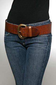 I lust after Pellemelle leather belts.