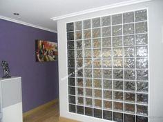 Wood Door With Glass Block Windows I Have Always Loved