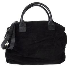 JEAN LOUIS SCHERRER Large leather bag ($268) ❤ liked on Polyvore