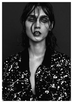 visual optimism; fashion editorials, shows, campaigns & more!: my beautiful dark twisted fantasy: kinga kaza by marco falcetta for tush december 2014!