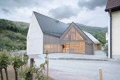 ludescher-lutz architects' vineyard högl completed in wachau, austria