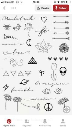 Art Discover Excellent tiny tattoos ideas are offered on our website. Check it out and you wont be sorry you did. Kritzelei Tattoo Doodle Tattoo Poke Tattoo Tattoo Drawings Easy Drawings Tattoo Outline Mini Tattoos Little Tattoos Cute Tattoos Kritzelei Tattoo, Doodle Tattoo, Poke Tattoo, Piercing Tattoo, Tattoo Drawings, Tattoo Outline, Tattoo Sketches, Tattoo Quotes, Little Tattoos