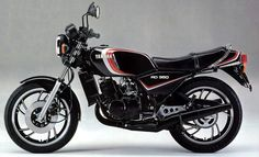 Yamaha RD350LC. Well you all know what we have here, a nutcase's dream, one of the first race bikes for the road?