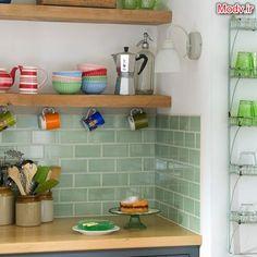 95 azulejos de la pared hermosa modelo de cocina
