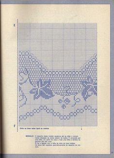 Filet Crochet Charts, Make Beauty, Embroidery Patterns, Lily, Handmade, Design, Crocheting, Crochet Lace Edging, Cross Stitch Rose