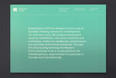 Western Front Membership : Post Projects