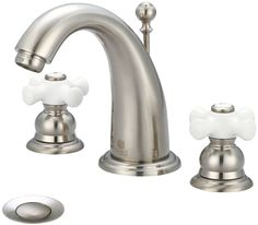 Brentwood Double Handle Widespread Bathroom Faucet