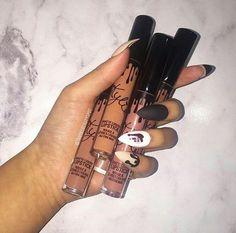 Imagen de makeup, nails, and lipstick