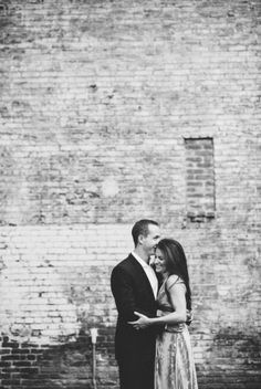 James Bond Meets Downtown Denver Engagement Session - milehighbride.com