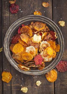 Chips de frutas y verduras Más