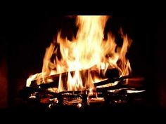 Virtual Fireplace with Crackling Fire Sounds (Full HD) - YouTube
