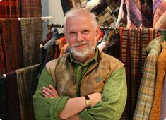 Randall Darwall and Brian Murphy talk about weaving and color and creating textiles in Episode VIII: Threads, from a series called Craft in America, 5/11/12 http://www.thirteen.org/programs/craft-in-america/#episode-viii-threads #finecraft