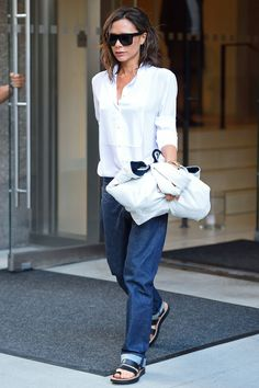 cd4c276062f4f Victoria Beckham Steps Out in Her Best New York Street-Style Looks Yet