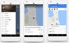 #Mapas #google Google Maps presenta función para compartir nuestra posición con otras personas