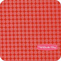 Mirror Ball Dot Clementine Yardage SKU# DM2999-CLEM-D - Fat Quarter Shop