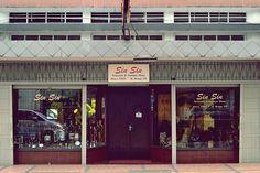 Old building on Braga street - Bandung